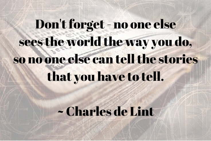 Charles de Lint quote