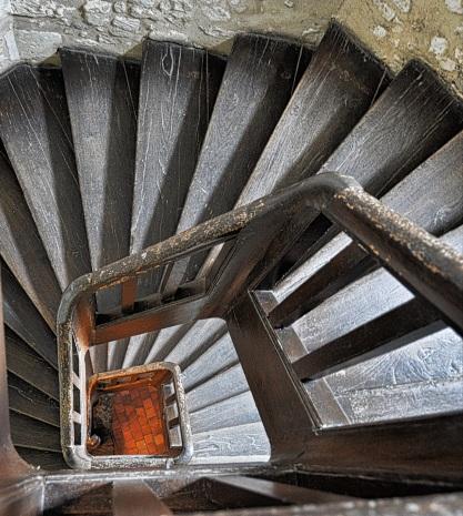chateau st jean escalier